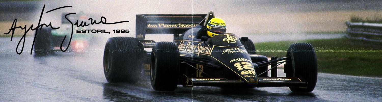 1985 - A Vitória de Senna
