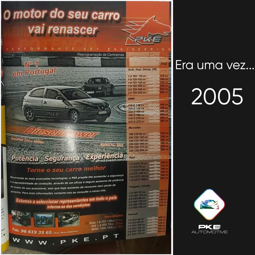 Era uma vez em 2005 - Marketing PKE