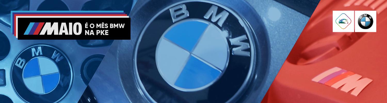///Maio é o Mês BMW na PKE!