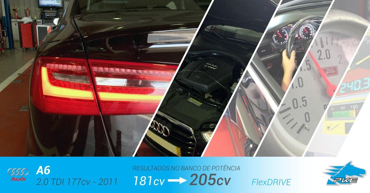 PKE FlexDRIVE em Audi A6 2.0 TDI 177cv – 2011