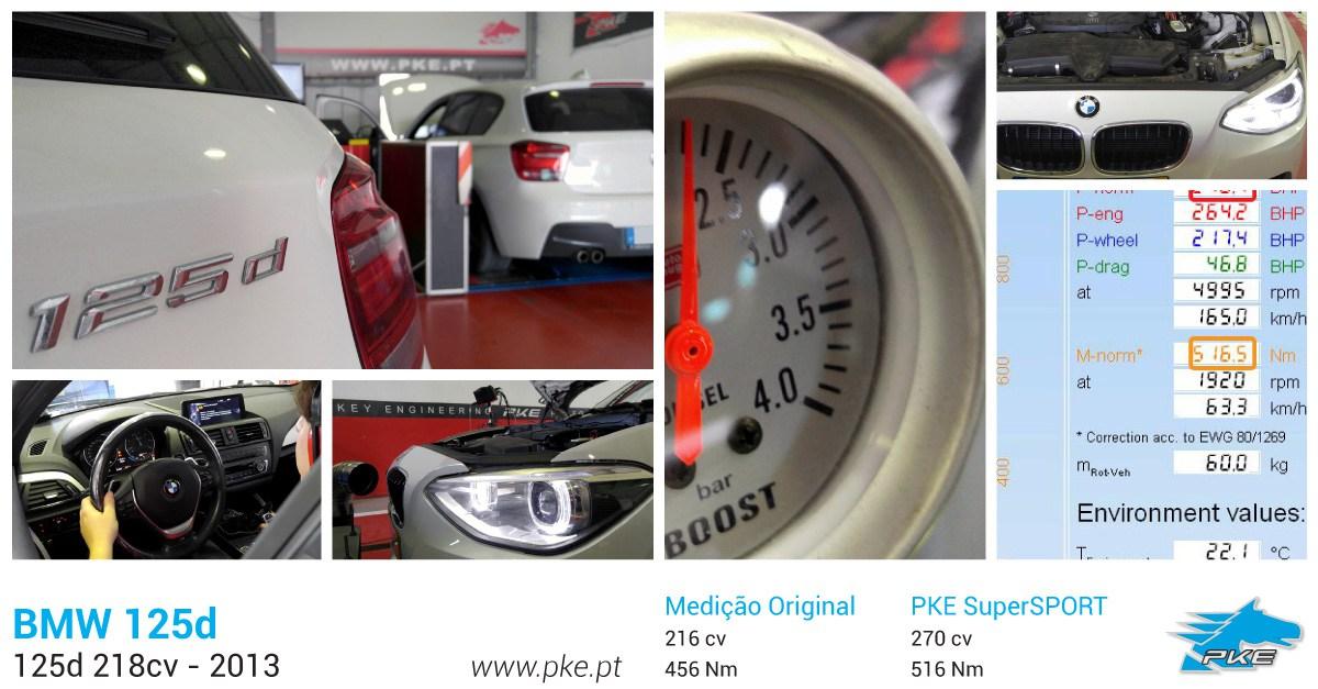 PKE SuperSPORT em BMW 125d 218cv – 2013