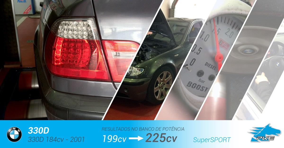 PKE SuperSPORT em BMW 330d 184cv – 2001