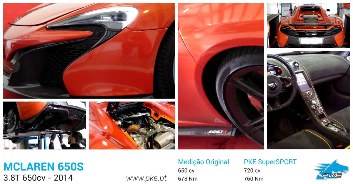 PKE SuperSPORT em McLaren 650S 3.8T 650cv – 2014