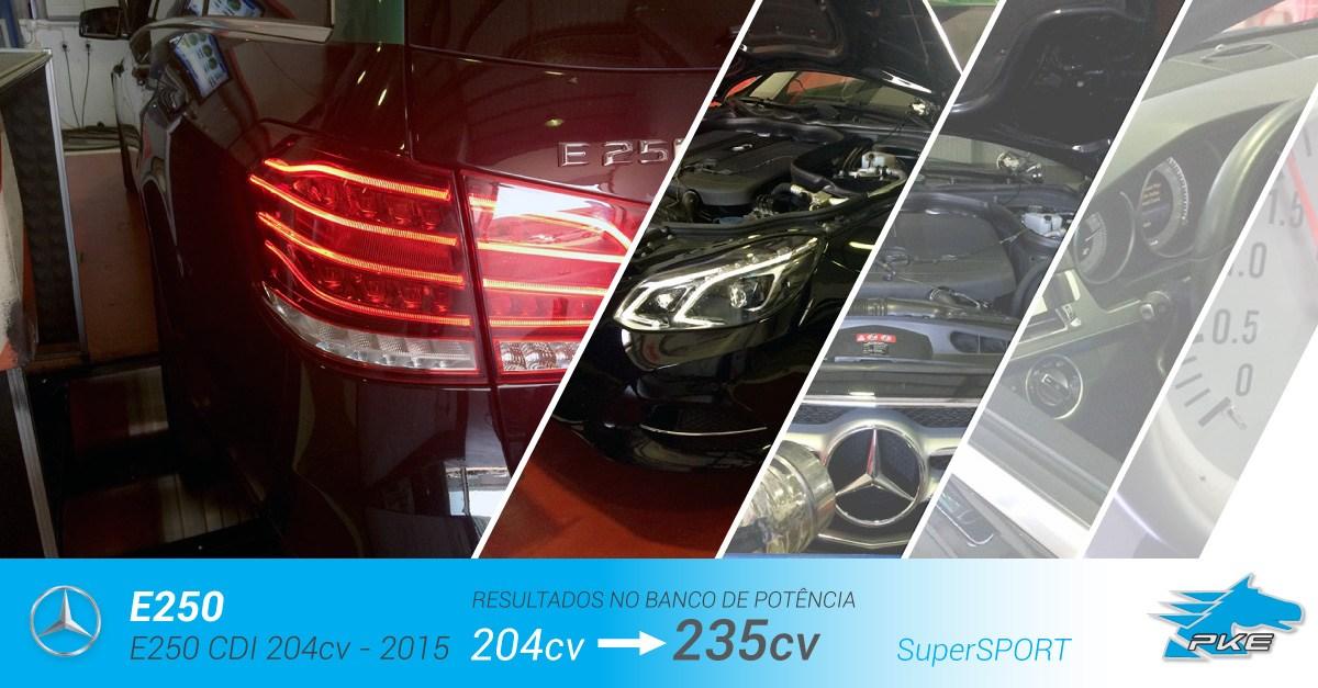 PKE SuperSPORT em Mercedes E250 CDI 204cv – 2015
