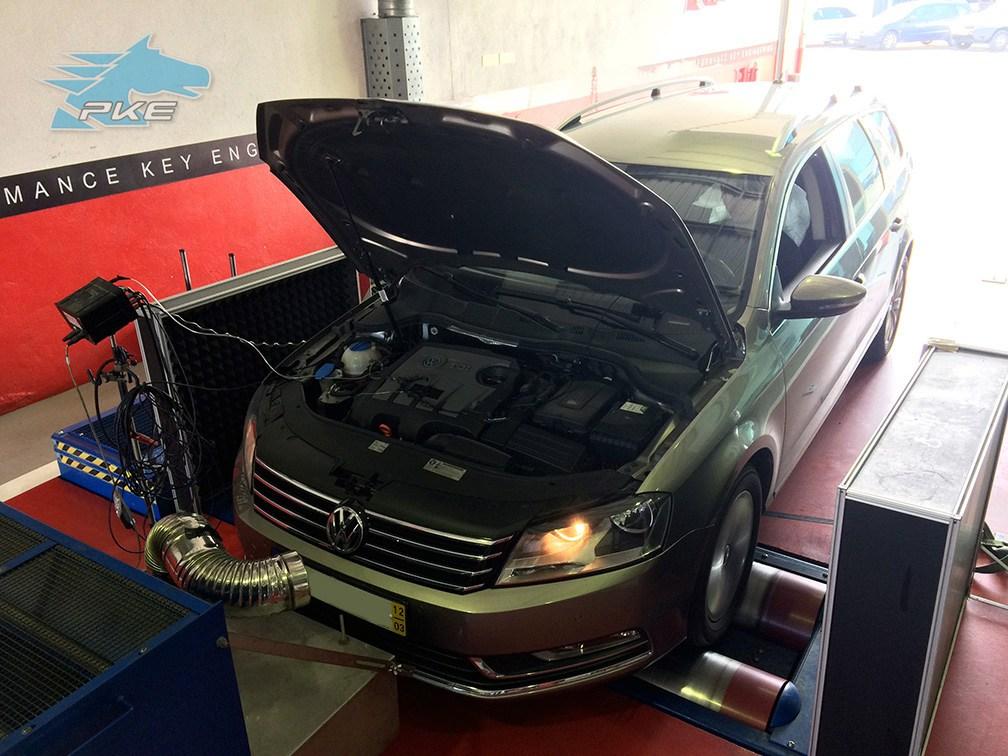 PKE FlexDRIVE em Volkswagen Passat 1.6 TDI 105cv – 2012