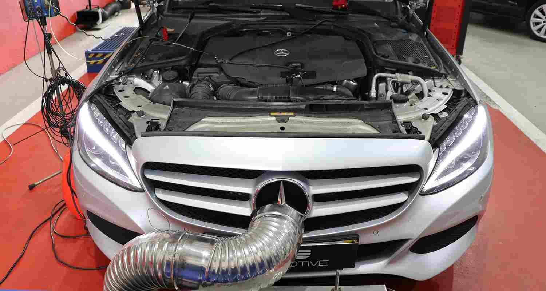 PKE FlexDRIVE - Mercedes-Benz C200