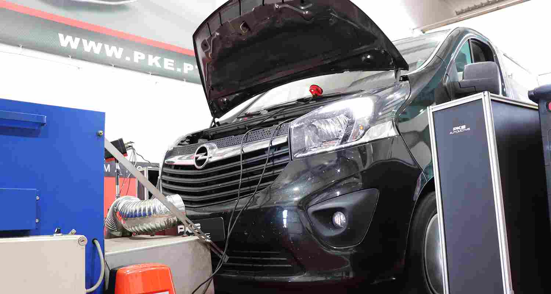 PKE SuperSPORT - Opel Vivaro Bi-Turbo