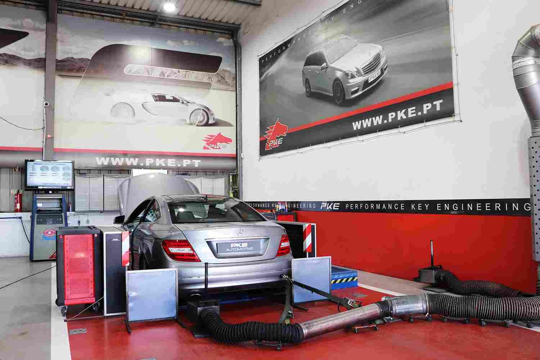 PKE FlexDRIVE - Mercedes-Benz C250