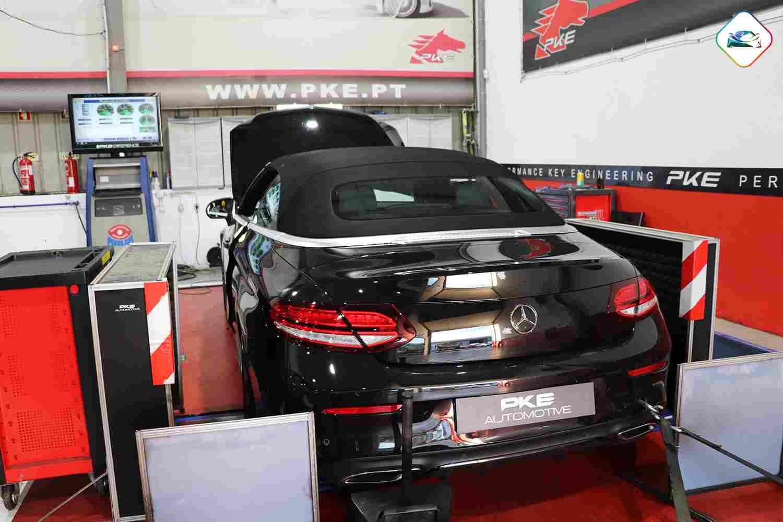 PKE SuperSPORT - Mercedes-Benz C220D Cabriolet