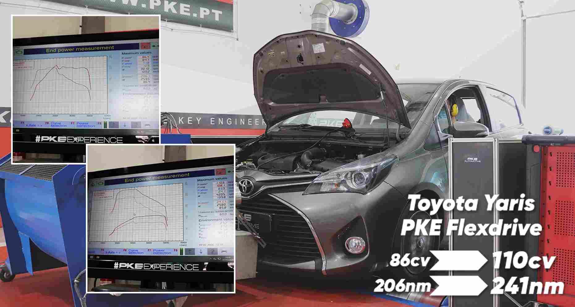PKE FlexDRIVE - Toyota Yaris 1.4 D4D
