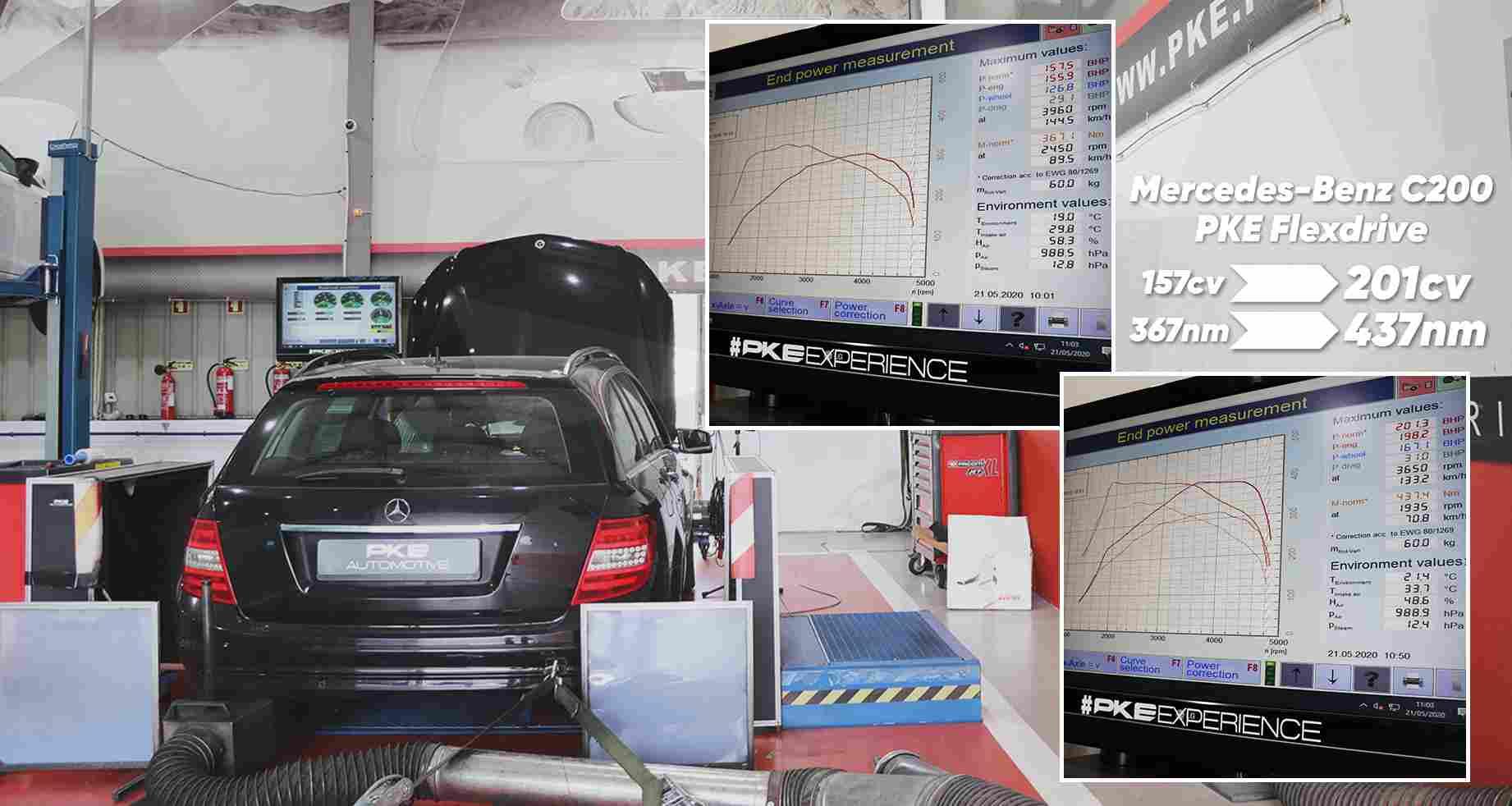 PKE FlexDRIVE - Mercedes-Benz C200 CDI