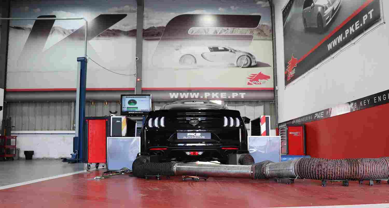 PKE - Ford Mustang 5.0 V8 GT