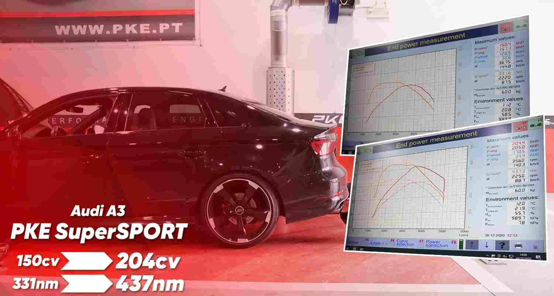 PKE SuperSPORT - Audi A3 2.0 TDI