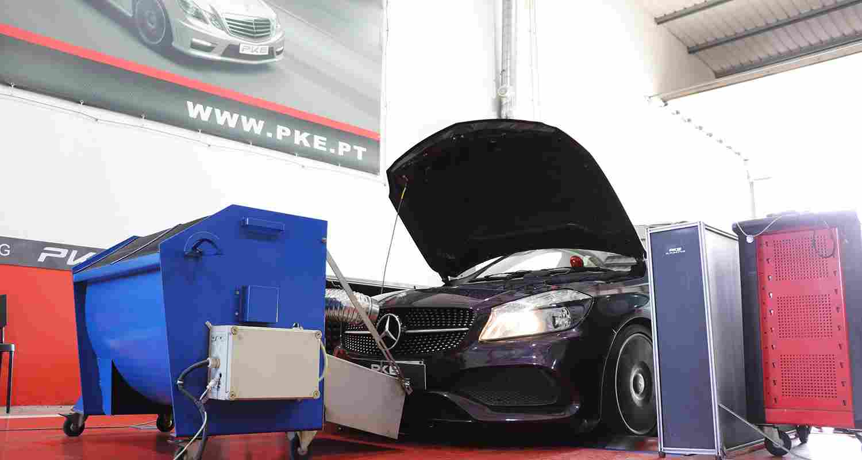 PKE FlexDRIVE - Mercedes-Benz A