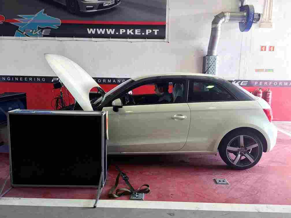 PKE SuperSPORT em Audi A1 1.6 TDI 90cv – 2011