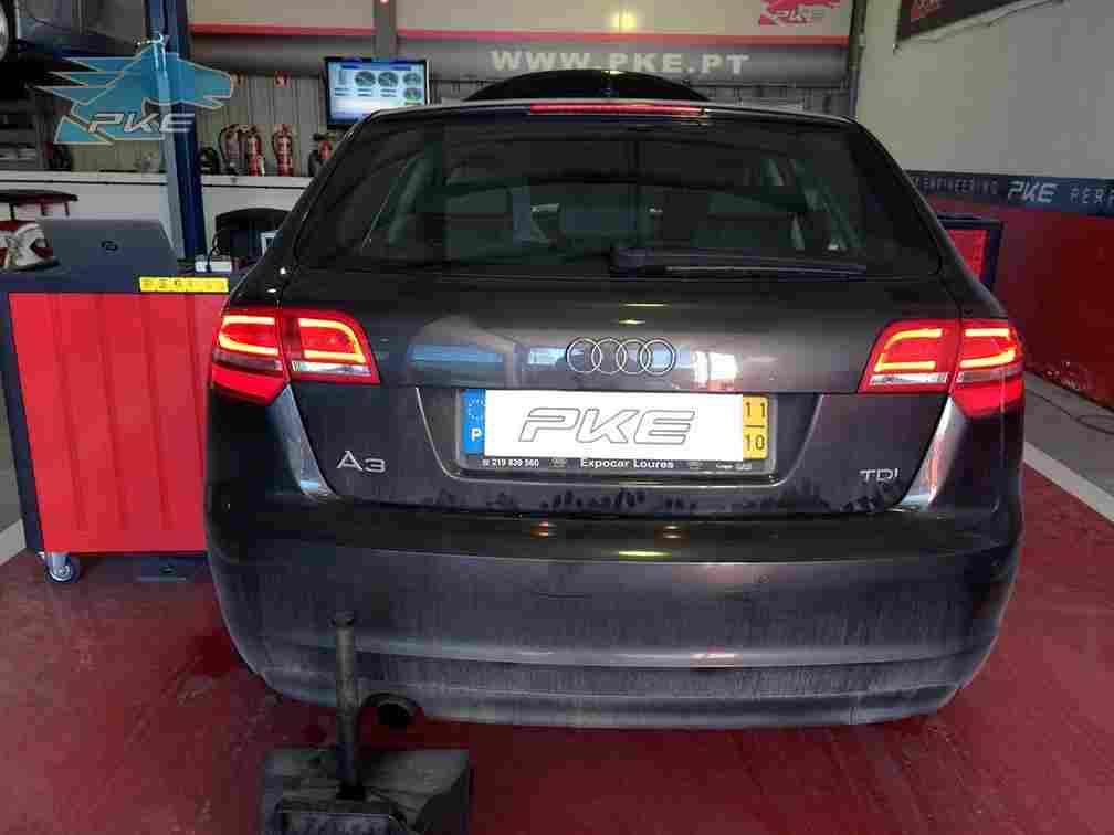 PKE FlexDRIVE em Audi A3 1.6 TDI 105cv – 2011