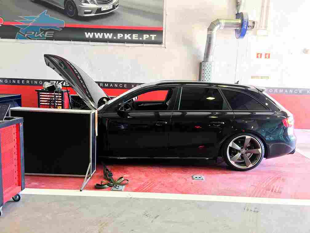 PKE SuperSPORT em Audi A4 2.0 TDI 163cv – 2013