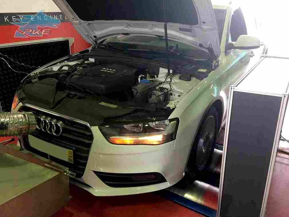 PKE FlexDRIVE em Audi A4 2.0 TDI 136cv – 2012