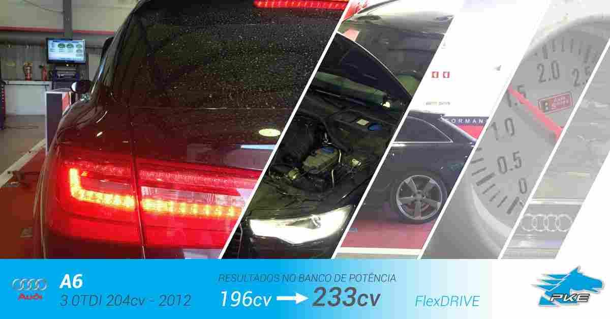 PKE FlexDRIVE em Audi A6 3.0 TDI 204cv – 2012