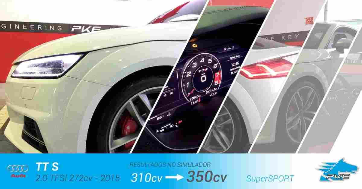 PKE SuperSPORT em Audi TT S 2.0 TFSI 310cv – 2015
