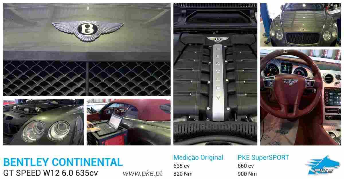 PKE SuperSPORT em Bentley Continental GT Speed W12 6.0 635cv