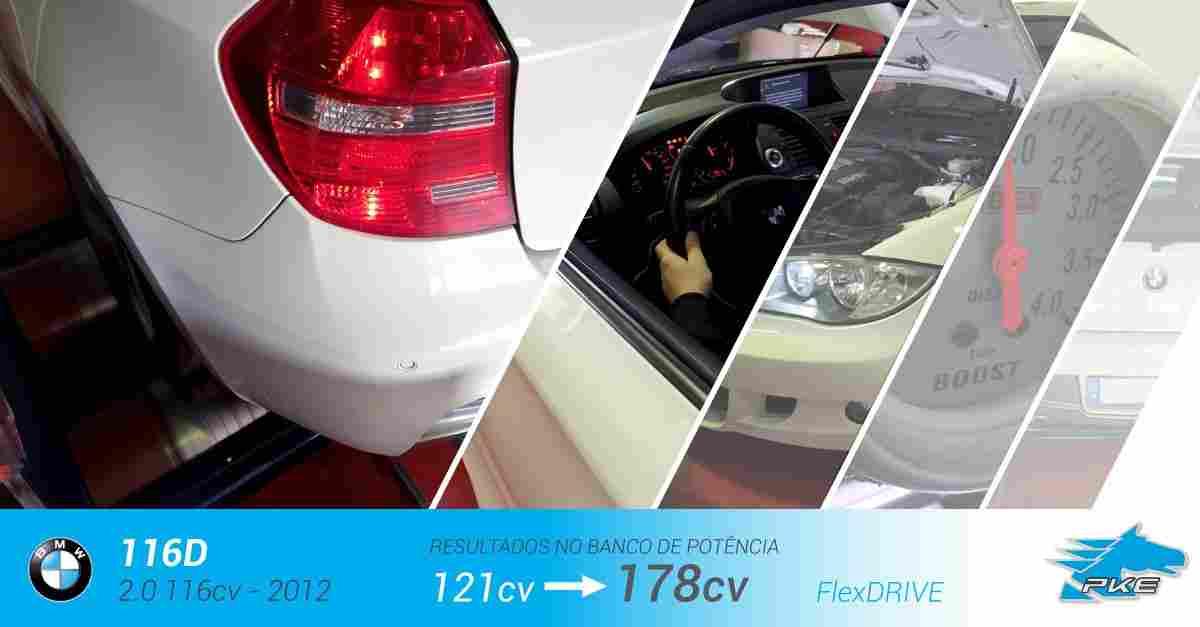 PKE FlexDRIVE em BMW 116d 2.0 116cv – 2012