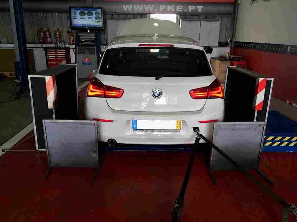 PKE FlexDRIVE em BMW 116d 1.5 115cv – 2015