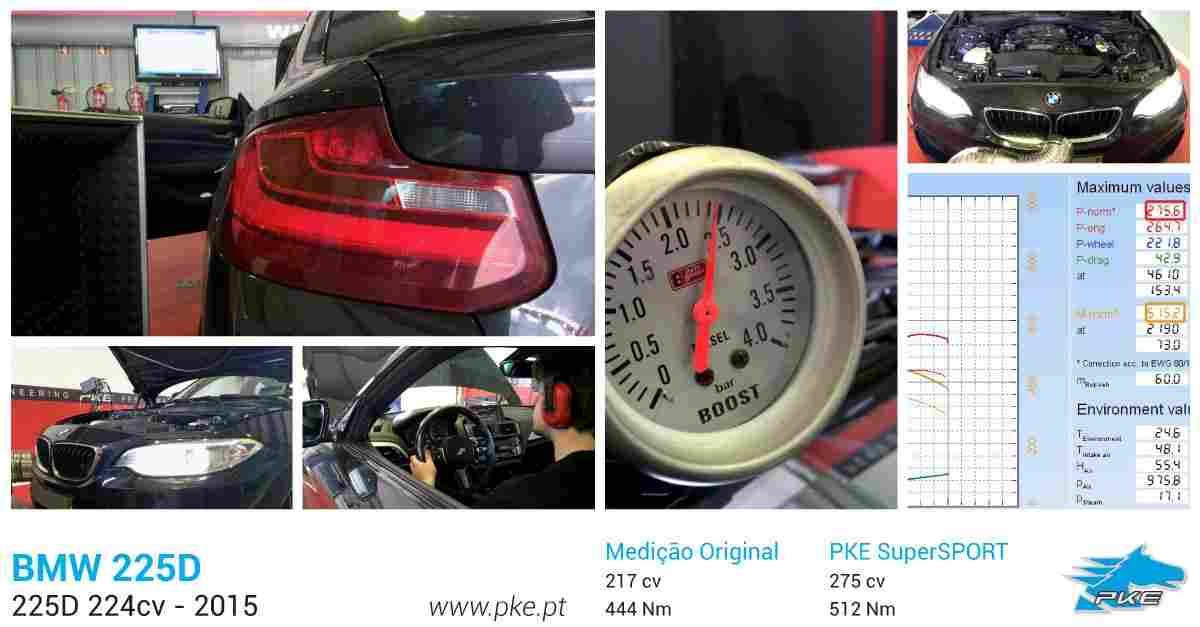 PKE SuperSPORT em BMW 225d 224cv – 2015