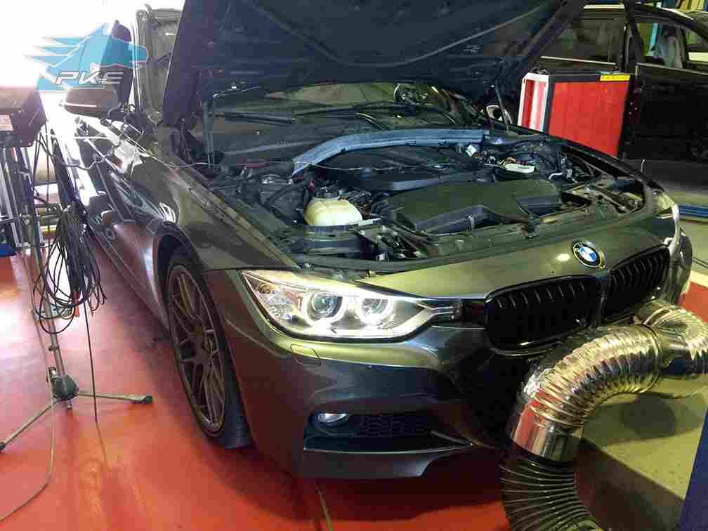 PKE SuperSPORT em BMW 325d 218cv – 2014
