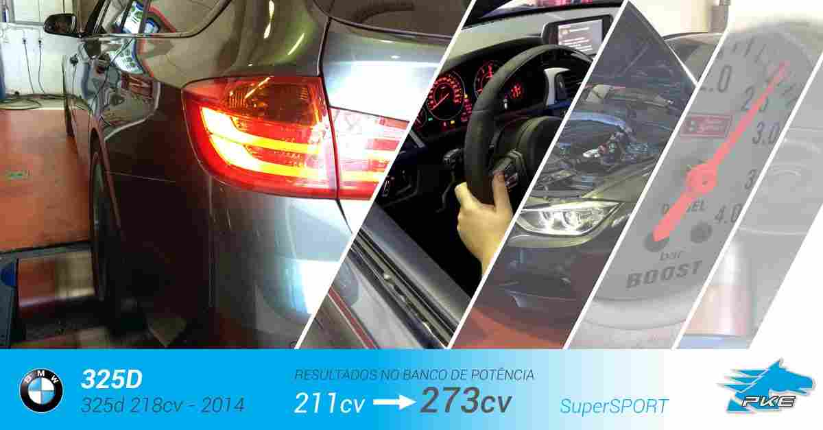 PKE SuperSPORT em BMW 325d 218cv – 2014
