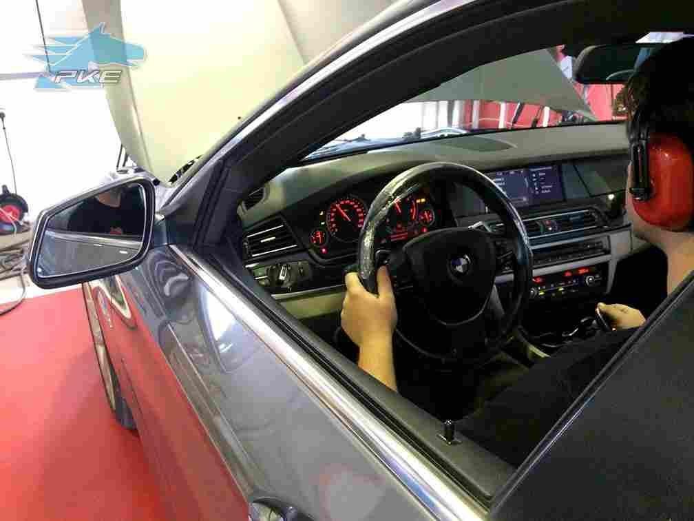 PKE FlexDRIVE em BMW 530d 245cv – 2010