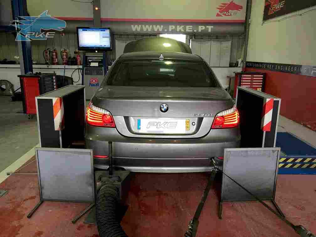PKE FlexDRIVE em BMW 530d 231cv – 2009