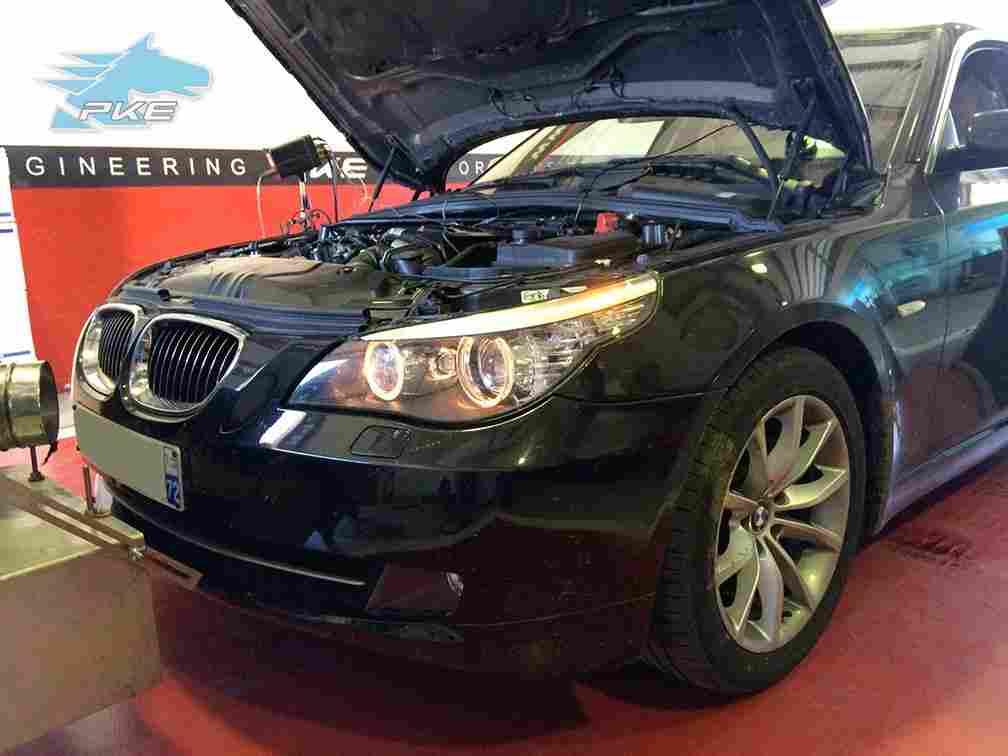 PKE FlexDRIVE em BMW 530d 235cv – 2007