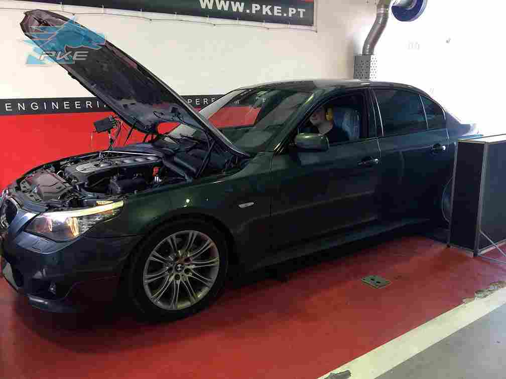 PKE SuperSPORT em BMW 530d 235cv – 2008