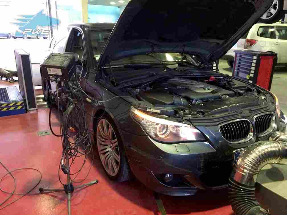 PKE SuperSPORT em BMW 535d 286cv – 2009