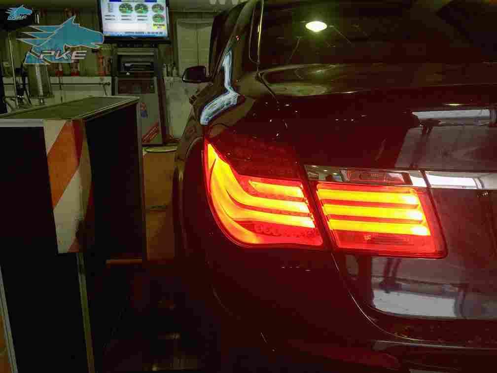 PKE SuperSPORT em BMW 740d 306cv – 2011