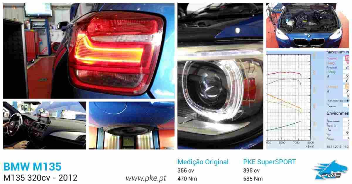 PKE SuperSPORT em BMW M135i 320cv – 2012