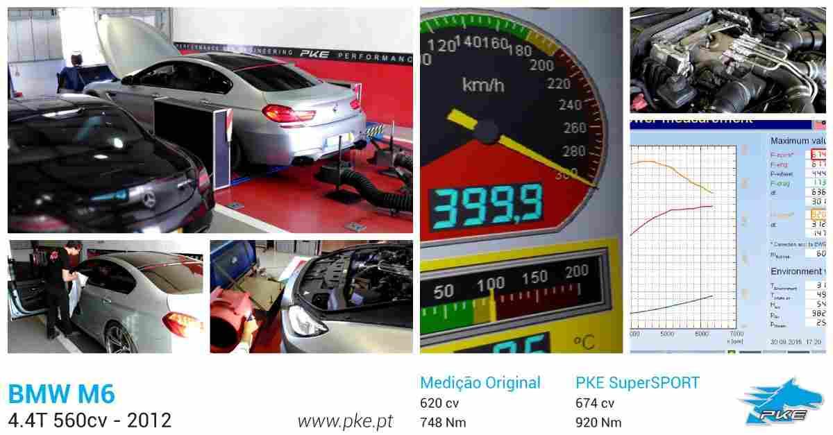 PKE SuperSPORT em BMW M6 4.4T 560cv – 2012