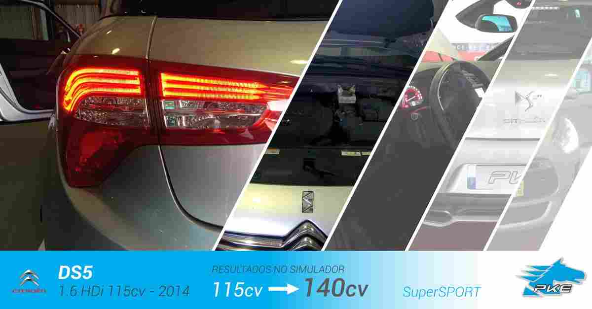 PKE SuperSPORT em Citroen DS5 1.6 HDi 115cv – 2014
