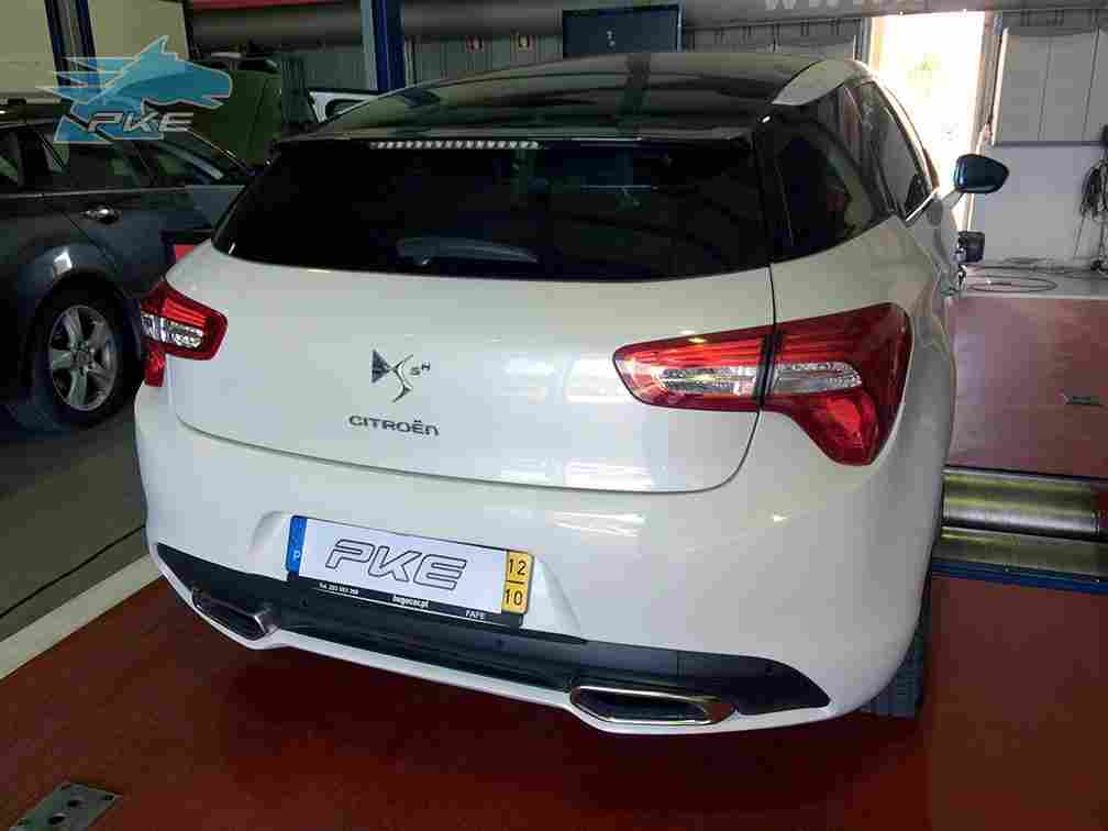 PKE SuperSPORT em Citroen DS5 2.0 HDi Hybri4 200cv – 2012