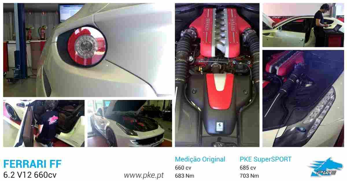 PKE SuperSPORT em Ferrari FF 6.2 V12 660cv
