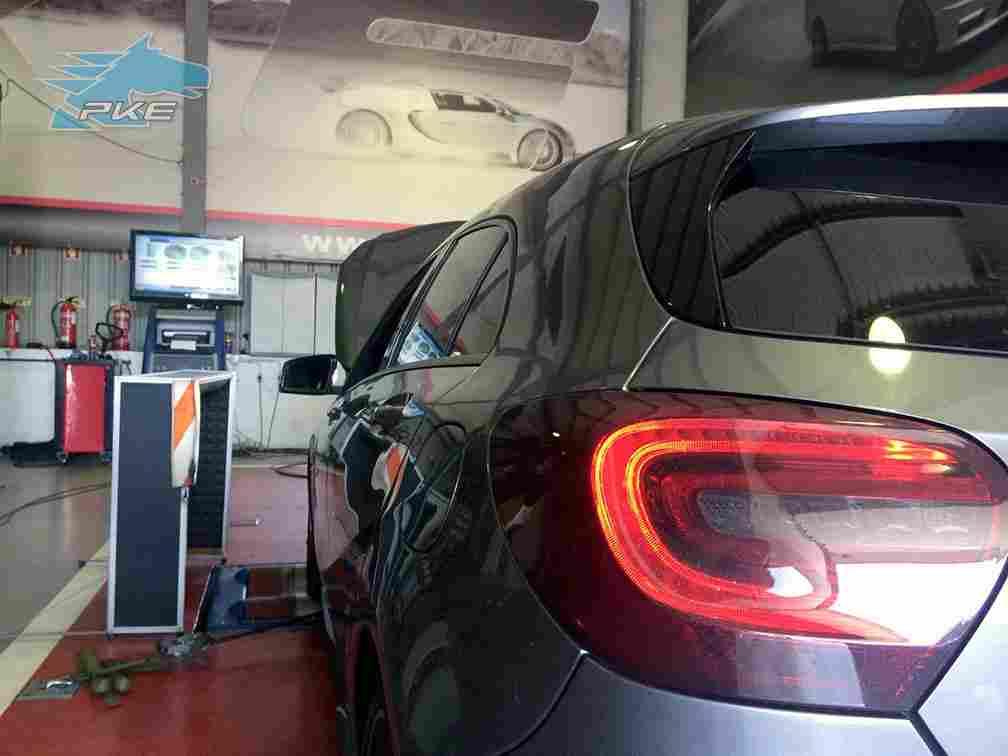 PKE FlexDRIVE em Mercedes A180 CDI 1500cc 109cv – 2012
