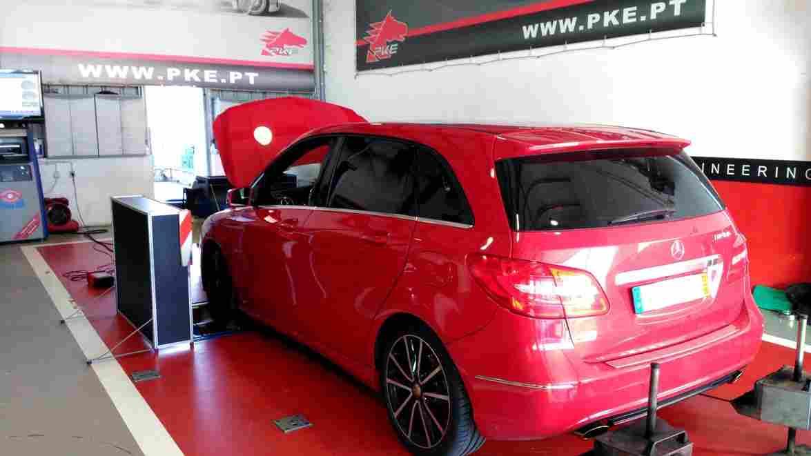 PKE SuperSPORT em Mercedes B180 CDI 109cv – 2012