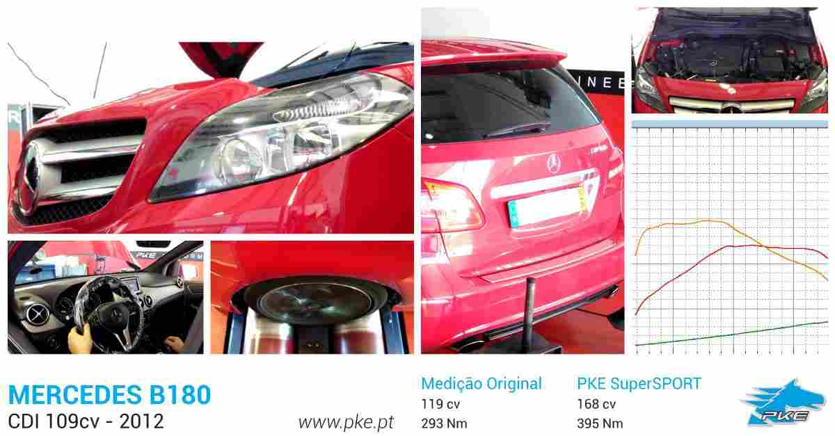 PKE SuperSPORT em Mercedes B180 CDI 109cv – 2012
