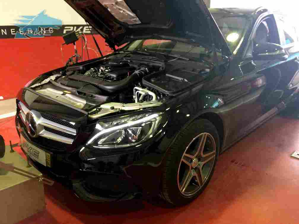 PKE SuperSPORT em Mercedes C200 CDI 136cv – 2015