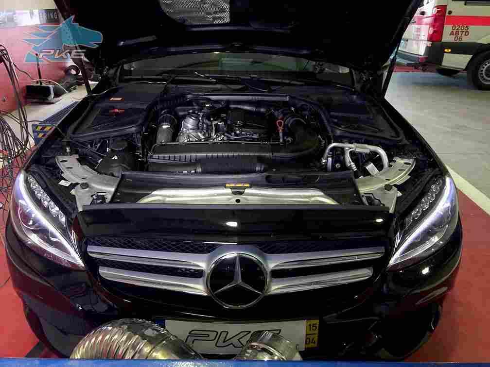 PKE SuperSPORT em Mercedes C200 CDI 136cv – 2015