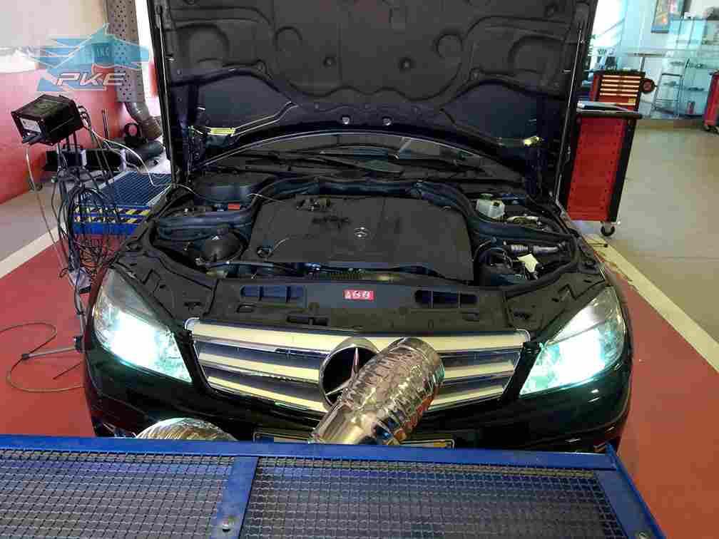 PKE FlexDRIVE em Mercedes C200 CDI 136cv – 2009