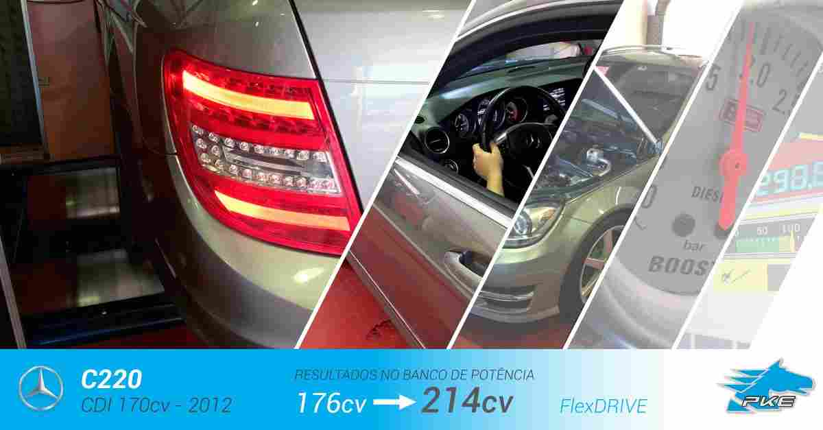 PKE SuperSPORT em Mercedes C220 CDI 170cv – 2012