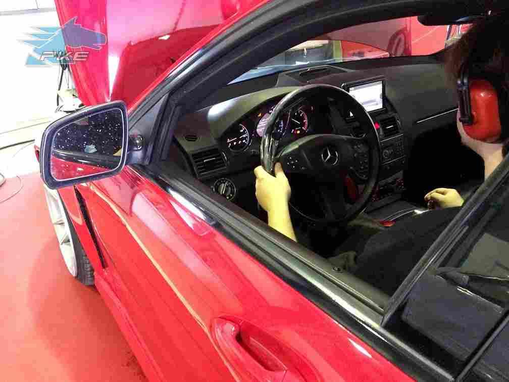 PKE SuperSPORT em Mercedes C220 170cv – 2008