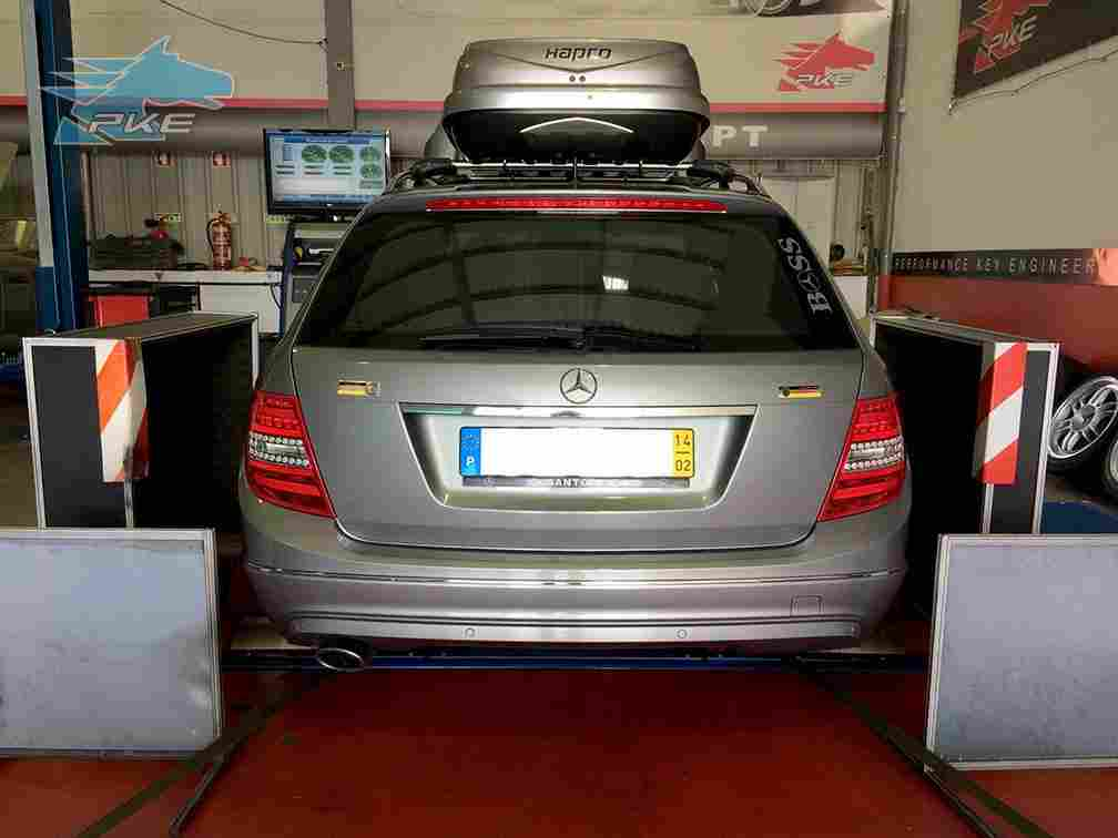 PKE SuperSPORT em Mercedes C220 CDI 170cv – 2014
